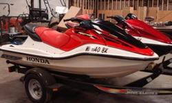 We have (2) Honda Jet Ski's for Sale with Shoreland'r Trailer2005 Honda ARX1200T3D AquaTrax F-12X Turbo GPScape 3-Passenger2004 Honda AquaTrax F-12 3-Passenger Both have been well maintained and stored in our warehouse. Both have factory coversVery LOW