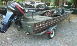 17' all welded valco bass boat. 04' 30 HP 4 stroke mercury. Trolling motor, fishfinder, livewell and much more. Please contact for more info. (click to respond) or Listing originally posted at http