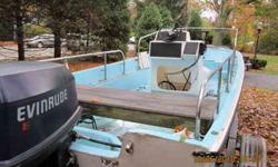 1972 boston whaler. 1990 88 HORSEPOWER evinrude runs good. 2000 Loadrite galvanized trailer. extras include gas tanks, ladder, life jackets, anchor. cash sale only.. serious buyers only . call 401-215-8747Listing originally posted at http
