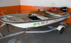 Boston Whaler 11.5 with a 2008 20 hp Mercury Four Stroke Complete Rail Package Wood on This Boat is Mint Condition with a clean Deck and Hull You Won't Find Another One Like This One Owner Boat. For more information, call Phil 305-491-6788