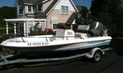 This boat is perfect for fishing and water sports. Easy to put in the water. Excellent condition!