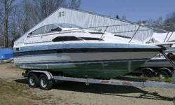 second Owner WITH Trailer I have the Boat Title, Manual, Maint Rec and Dealer Sticker, for the Trailer a Notarise / Cerified Auth to Sell Bill / Form., NEW Motor, Cabin Interior & Carpet, Exterior Interior, Motor, Drive & Gimble, COMPLETELY ( Rebuilt ),