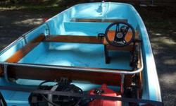 Sandown New Hampshire is 1 hour North of Boston 1971 Boston whaler last year of the robin's egg blue interior but has the news smile Hull which rides much smoother boat was not a workboat well cared for in very terrific condition for year. original