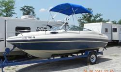 94 cuddy cabin 3.0 4 cyl. yamaha ,great cond.,no tears been garage kept and covered, has snap on cover and 2 tops, trade for pontoon ,if sold will take 5,500 call tommy 205-516-5549sold sold sold sold sold thank you