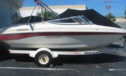 Nice -- Super Clean! Rinker 180 Comes with trailer! with Mercruiser 3.0 Liter with Alpha One Drive White & Red Options
