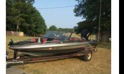 Hi im selling my 1992 Astro 18FS Stealth, 18.6' fish and ski with a 135 Mercury Black Max which was rebuilt by a Mercury Dealer in Madison (have reciepts), the gel coat is a little faded but has minimal scratches and in great shape, the seats were