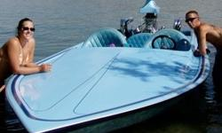"""1978 Charger Boat 19'; Berkeley """"E"""" Pump; 454 Chevrolet Motor with Edelbrock Tunnel Ram Intake; Holley 800 CFM carb with mechanical secondaries; Bassett water injected headers; interior has no rip/tears; bulkhead storage; low hours. Matching Roadrunner"""
