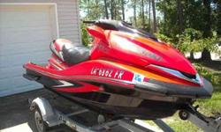 HERE IS A STEAL!! THIS SKI WILL SELL FOR WELL OVER $7000 IN THE SPRING. END OF SEASON SALE!!FOR SALE IS A NICE 2007 KAWASAKI ULTRA 250X JET SKI WITH 250 HORSEPOWER! THIS SKI IS THE KING OF THEM ALL AND DOES 67 MPH AND IS STOCK. SKI HAS ONLY 119 HOURS AND