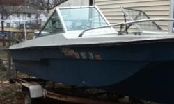 16 foot trihull, with walk-through windshield, 75hp Johnson motor 1977. Boat 1976 model. $600 obo for boat/motor/trailer. Boat is in Emporia, KS. Call 620-794-7663 if interested. Ask for Ray.