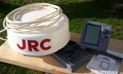 JRC 1500 radar. complete, ready to go to work. very good shape, needs nothing. email or call 401 248 4481