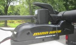 Price reduced for Minn Kota electric trolling motor, Power Drive V2, with Microtouch foot controls, 70 pound thrust, 24 volts, dual 12 volt batteries, and 51 inch adjustible shaft. If you like to fish you will love this motor. Hardly used one season only.