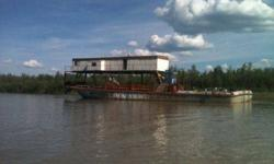 Self powered barge. 120' by 38' . 300 ton twin diesels .for sale in fairbanks Alaska .60,000 . Good shape.call,750-1029.great for nome dredgeListing originally posted at http