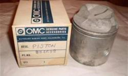 New/Old Stock Evinrude/Johnson pistonsTop to Bottom