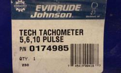 New old stock. Tech series tach. 5, 6, 10 pulse. 0-7000 RPMPart # 0174985$60Call Mike if interested 781-706-3365Listing originally posted at http
