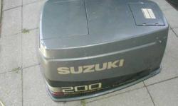 suzuki v6 200 horsepower motor cover as shown $60.00 or bo 617-924-9828Listing originally posted at http