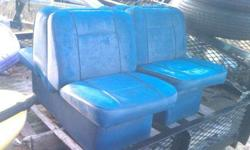 Back to back seats , plastic bases in ok cond. 508-472-7269Listing originally posted at http