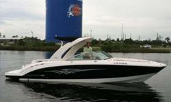 2008 Chaparral 280 SUNESTA If you want to turn heads then look no farther! This 2008 284 Sunesta is the ticket! Loaded with factory options and low hours, this boat won't last long! Call now to be first on the list. Trailer not included but is available.