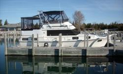 Beautiful boat that we must sell due to health issues. Fully enclosed aft deck with hard top. Nicely equipped, including GPS and generator. Twin 300hp Mercruiser engines. Low hours. Excellent condition. Possible loan assumption per credit union approval.