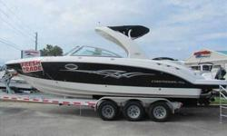 2008 Chaparral 284 SUNESTA If you want to turn heads then look no farther! This 2008 284 Sunesta is the ticket! Loaded with factory options and low hours, this boat won't last long! Call now to be first on the list. For more information please call