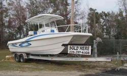 Brand new 26 feet Ocean Cat CC With twin 150 Suzukis Can be seen at Darrins Marine woolmarket exit 41 north or call 228-297-6308Listing originally posted at http
