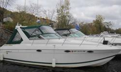 2000 Formula 31PC Fast and stylish, this well appointed luxury cruiser from Formula has all features you would expect and more. Twin 7.4 MPI engines with Bravo III drives, generator, A/C and recent canvas updates make it perfect for the big lake or