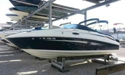 2011 Sea Ray 260 SUNDECK Every choice made while crafting the 260 Sundeck favors carefree boating, so owners and their families can have more fun on the water. Powered with a MerCruiser 5.0L BR3 stern-drive engine, this boat is ready for action with