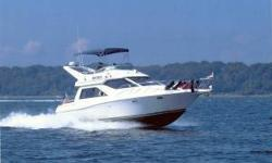 "2002 Bayliner 3258 Ciera Dual Helm Cruiser ""Christmas Toy"" Price reduced to $63,000 • Category"