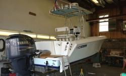 50 hours, just fully refurbished August 2013 -- compounding, waxing, cleaning, detailing, polishing stainless, cleaning cushions - like a brand new boat.Brand new Simrad NSS8 Electronics with 4G radar, VHF radio, Fusion stereo with speakers and underwater
