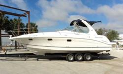 2004 Four Winns 328 2004 Four Winns 328 Vista is a cruiser. Powered with twin gas Volvo Penta 5.7 SI stern drive motors with 227 hours reading on the gauges additionally she has brand new manifolds and risers. Equipped with a Kohler 5KW generator with 43