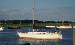 The Beneteau First 375 is a well-built racer/cruiser sailboat with a perfect blend of amenities and sailing design. She is outstanding as both a stable well equipped family cruiser or as a nimble ?around-the-buoy? racer. ?Escapade? has been well