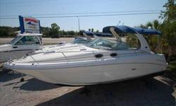 2002 Sea Ray 300 SUNDANCER For more information please call