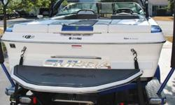 This is Supra's premier boat of 2012. The Worlds Edition Launch 22 VOLT. Retail price on this boat new is $84K! Get it 1yr old at a huge discount. 215 hours on engine. More images http