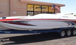 """http://www.gotwaterrentals.com/Consignment_2006_Conquest_Boss%20Cat_28.html The Boss Cat 280 is just the boat to make you the envy of all your friends. It is the ultimate high performance """"hotrod"""" boat. It easily runs away from the competition when you"""