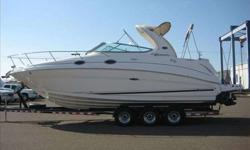 2005 Sea Ray 280 SUNDANCER For more information please call