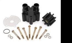 Mallory Mercruiser Water Pump Kit for all inboards w/o block drain and Bravo 1 2 and 3. Sold individually Call 800-732-0988 http://www.zincsforboats.com/