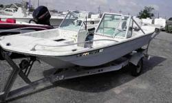 The Boat Yard Inc. 18' Saber Fantail 18' Saber Dual Console , Fantail , Solid Hull and Tranosm , 115hp Johnson Outboard , Not working , Galv Trailer , Good paper work , Sold as is , For more info call Ruben A Ramos at 504-236-0119 or e-mail