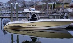 Type of Boat: Power BoatYear: 2005Make: hydra sportModel: 3300ccLength: 33Hours: low hoursFuel Capacity: 300Fuel Type: GasEngine Model: 600hp Twin yamaha z300txrdMax Speed (Boat): 45Cruising Speed (Boat): 32Inboard / Outboard (Boat): Twin OutboardTotal