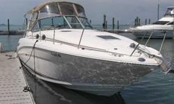 2003 Sea Ray 300 SUNDANCER It is evident that Monentai has been well cared for since new. Always lift kept and dry stored with clean unpainted bottom. Recent Service by MarineMax Sarasota included new Risers and Exhaust Manifolds plus a complete Annual