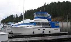 1989 BAYLINER 3288 MOTOR YACHT THIS YACHT IS IN TOP NOTCH CONDITION! IMMACULATELY MAINTAINED WITH OPEN CHECKBOOK, ONE OWNER, ONE MECHANIC, NEVER IN SALT WATER MOORED AT COEUR D'ALENE LAKE, ID SINCE 1989. BOTTOM PAINTED 3 YEARS AGO. SILVER BEACH MOORAGE IS