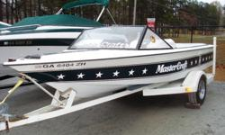 Clean 1983 Mastercraft Prostar 190. Looks good and starts on the first crank!!! $6K firm. Tom 404-427-5275.