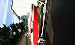 1985 Chris Craft Scorpion 21 ft. with trailer. Trailer has double axle with power brakes. The boat itself holds 6 passengers and sleeps 2 (cuddy cabin). 350 inboard with Mercruiser lower unit. Runs and looks good.