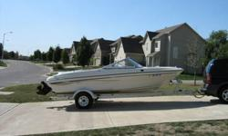 CLEANEST BOAT AROUND 2002 Bayliner 185 Capri Sport with APS. 3.0 Mercruiser, running lights, am fm radio, lots of storage to include ski storage, boat cover, bimi top, swival cpt chairs, swim ladder and much more. Mint condition. Cleanest boat around but