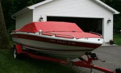 1991 Four Winns 170 Freedom ? 18.5 Ft. Overall Length ? 3.0 Liter, 4 cylinder, 140 HP, OMC Drive Unit ? AM/FM Stereo ? Swim Platform (With A Ladder) ? Power Tilt And Trim ? NEW Custom Cockpit And Bow Covers ? NEW Electric Automatic Bilge Pump ? Trailer ?
