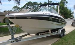 2006 MODEL FOUR WINNS 240 HORIZON BOW RIDER. SHE IS IN EXCELLENT CONDITION FOR THE YEAR AND RUNS OUT GREAT. THIS 24 FOOT MODEL IS LOADED WITH FEATURES TO ENSURE YOUR TIME ON THE WATER IS EXCITING, ENTERTAINING AND WORRY FREE. STARTING AT THE REAR OF THE