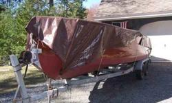 """1953 Chris Craft """"Sportsman"""" 22 feet Mahogany hull Bottom and Transom rebuilt Hull sides and transom need refinishing Decks redone and needs refinishing Engine 130 Chris Craft M Out of boat, runs good, can demonstrate All hardware except gunnels stainless"""