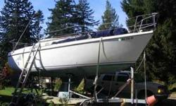 almost everthing is new paint,stainless,mast, 110 and 12 volt system sleeps 5 inclosed head two sinks email with phone # and get the full list of upgrades