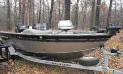 2002 Basstracker Targa ski / fishing boat. 115 HP mercury. BRAND NEW 55 lb minn kota trolling motor w/ foot control. 2 livewells 2 minnow compartments. rod storage compartment. 4 other storage compartments. 6 captain chairs. Garmin depth finder. Good