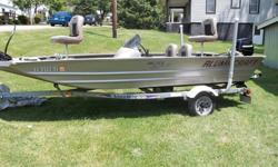16 Foot ALUMACRAFT boat with trailer (Exceptional Condition)9.9 Mercury 4 Stroke Outboard Motor (Low Hours)Comes FULLY Equipped