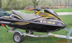 2006 Yamaha FX High Output Waverunner. I am the original owner. Runs good, never had a problem! Includes the cover. This is a three person jetski and has the 160HP four stroke engine. Aluminum trailer not included in sale, but available separately to the