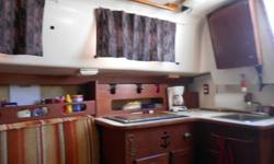 This boat is located in Southport and was built as a coastal cruser. Has new mainsail, almost new headsail with roller furling. Updated fresh water head, Hot & Cold pressurized water, Sleeps 6, two burner stove, michr.&ref. New Nissan 9.9 outboard in
